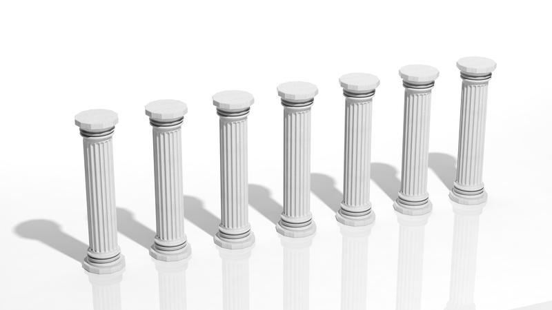 Seven Sacred Pillars! Image