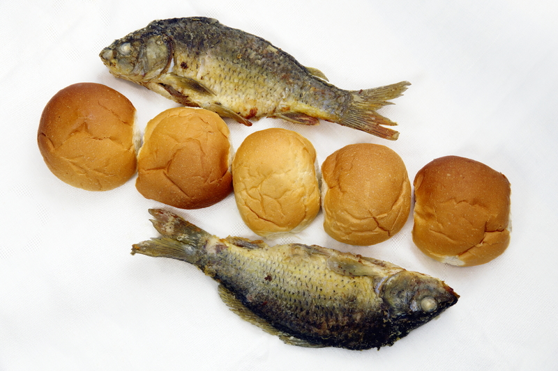 Five Loaves and Two Small Fishes! Image