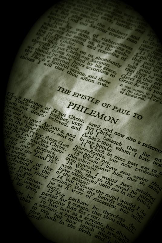 Philemon In Christ! Image