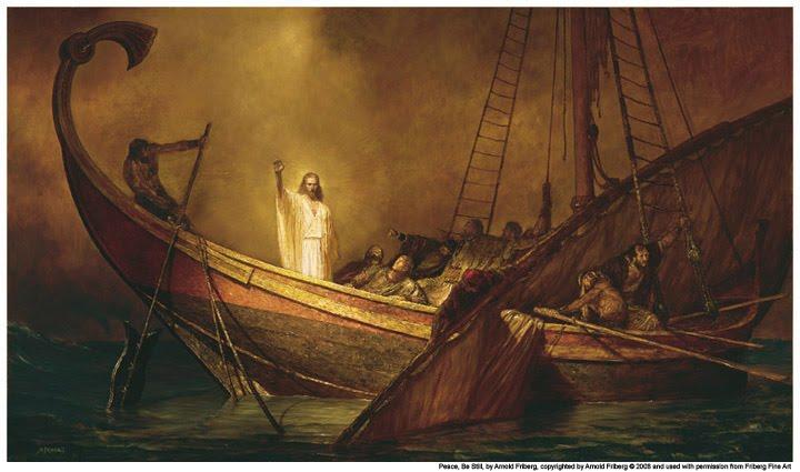Jesus In the Ship! Image